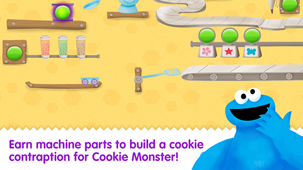 cookie monster's challenge app still